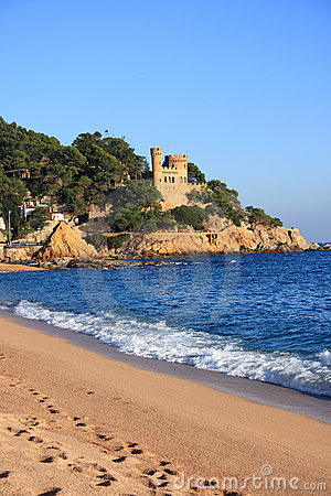 Free Lloret De Mar Beach (Costa Brava, Spain) Stock Photography - 7611052