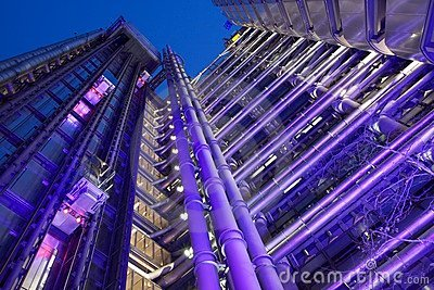 Lloyds Building Editorial Stock Photo