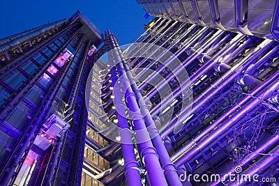Lloyds Building Editorial Stock Photo