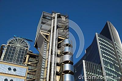 Lloyd's Building Cityscape