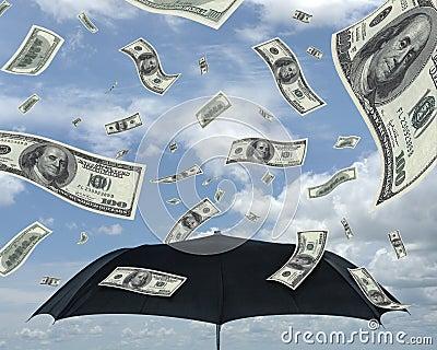 Lluvia de dólares