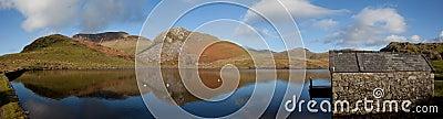 Llyn Y Dywarchen a fishing lake