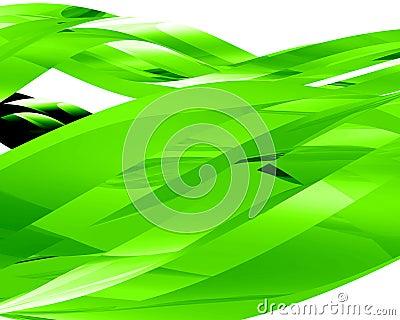 Éléments en verre abstraits 001
