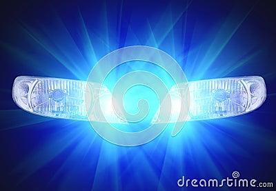 Lámparas principales automotoras