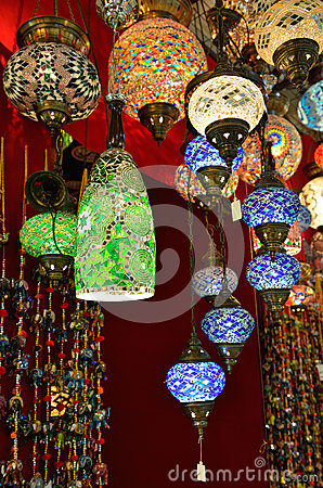 Lámparas turcas