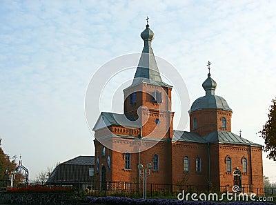 Ländliche Kirche