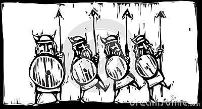 Línea de Vikingos