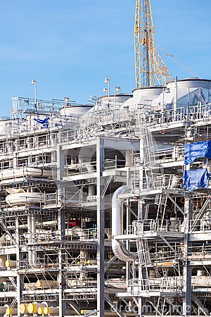 LNG Refinery Plant