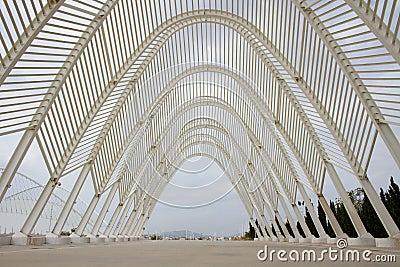 Lo Stadio Olimpico a Atene, Grecia