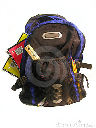 Free Loaded Backpack Stock Photography - 675742