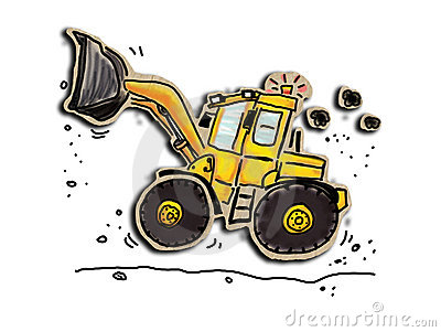 Loader Royalty Free Stock Image Image 21238206