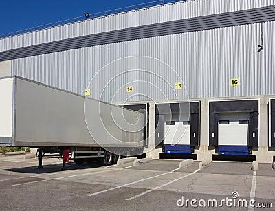 At loading