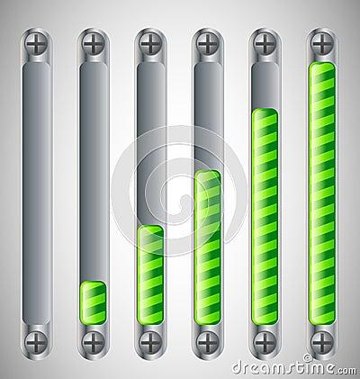 Loading Bar with screws
