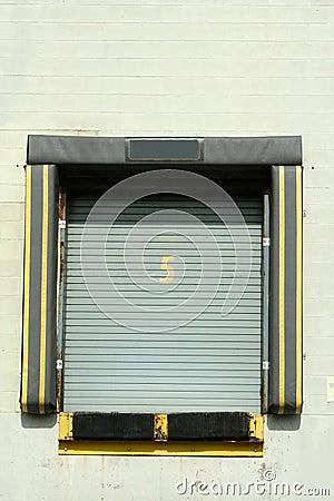 Loading dock bay door