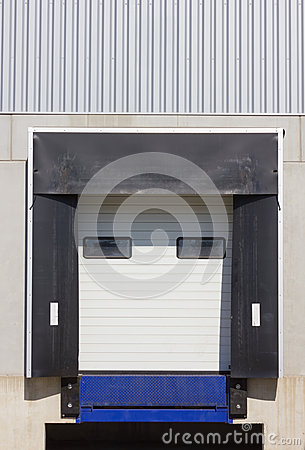Loading dock cargo doors