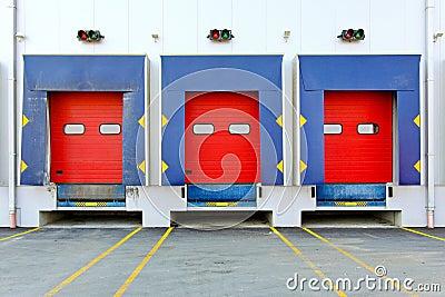 Loading doors