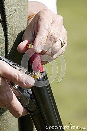 Loading Purdy Shot Gun