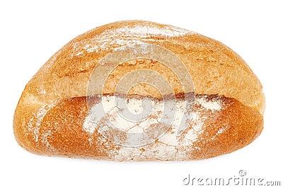 Loaf of fresh rye bread