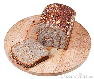 Loaf of grain bread