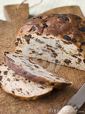 Free Loaf Of Barm Brack Royalty Free Stock Photos - 5932128