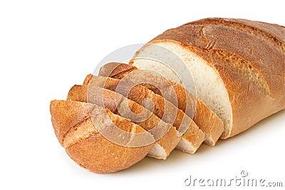 Loaf sliced