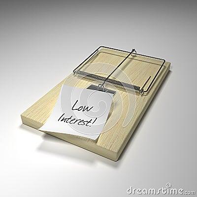 Free Loan Trap Royalty Free Stock Image - 5189736