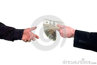 Loaning cash money