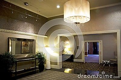 Lobby of Alexis Hotel Editorial Stock Photo