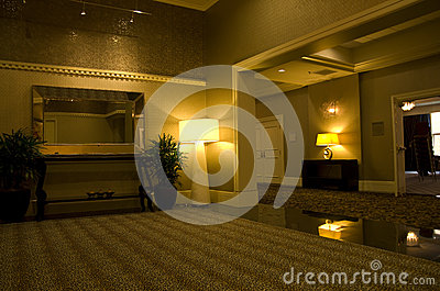 Lobby av Alexis Hotel Redaktionell Arkivbild