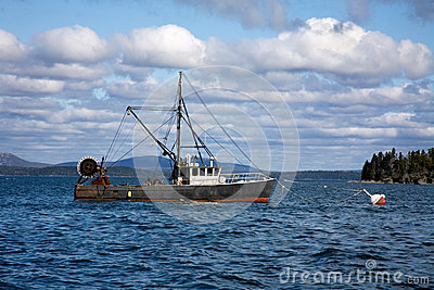 Lobster Boat, Maine