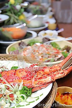 Lobster In Buffet Dinner