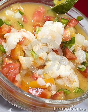 Lobster ceviche cebiche seviche fresh citrus marinated corn island ...