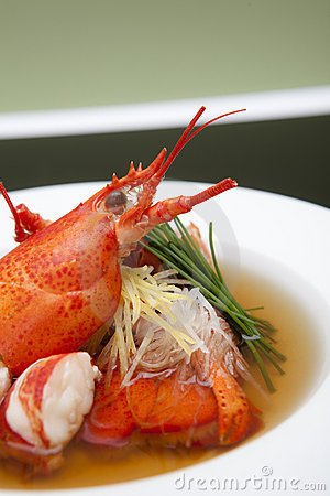 Lobster Consomme