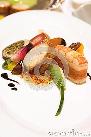 Lobster, Salmon and Pickerel Platter