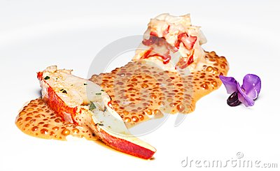 Lobster slice