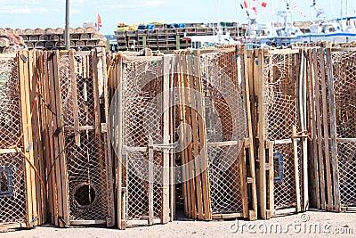 Lobster traps in P.E.I.