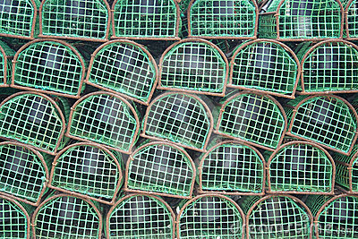 Lobster traps used by Portuguese Fishermen