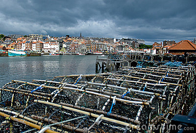 Lobster Traps in Whitby