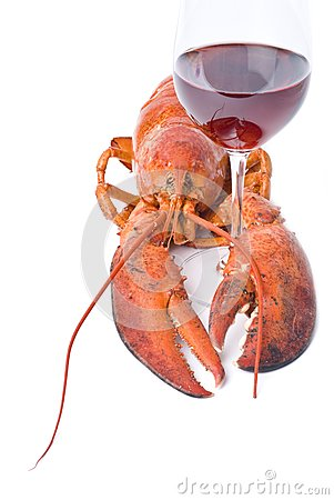 Lobster and Wine