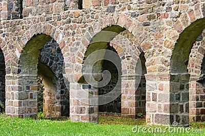 Loburg church ruin
