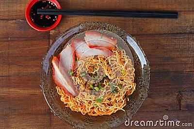 Local cuisine Kolo Mee in Kuching, Sarawak, Malaysia - Series 2