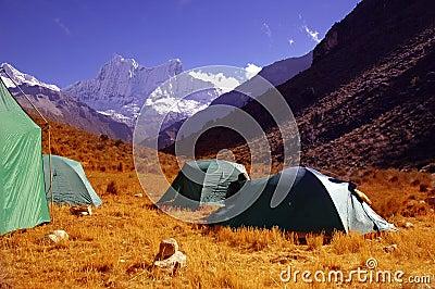 Local de acampamento