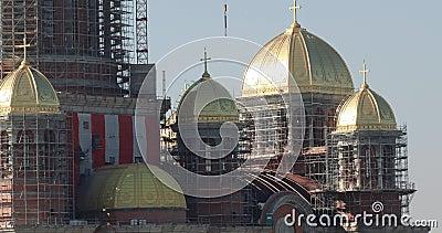 Local de construção da Catedrala Mantuirii Neamului Catedral Popular de Salvação, filme