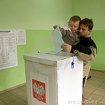 Local elections in Poland Editorial Stock Image