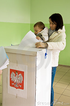 Local elections in Poland Editorial Photography