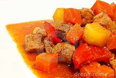 Local Filipino food - Pork Stew