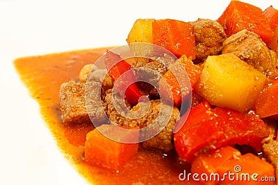 Local Filipino food - Pork Stew
