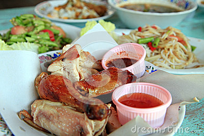 Local food of Thailand