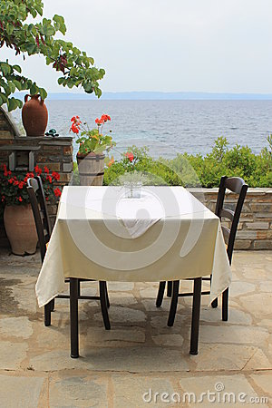 Local greek taverna