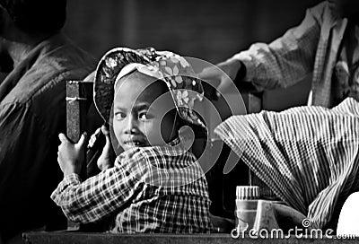 Khmer Girl Editorial Photography